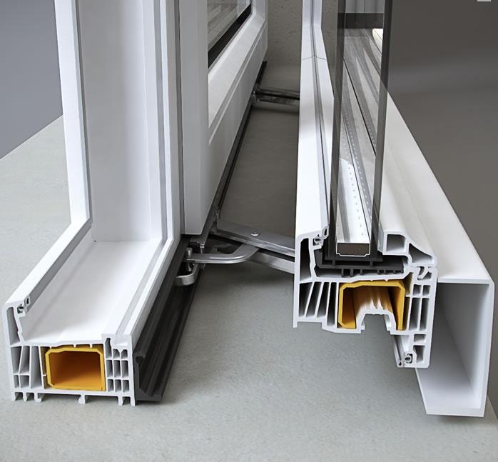 Aperture scorrevoli con sistema traslante scorrevoli renna infissi realizzazione vendita - Porta finestra alluminio prezzo ...
